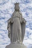 Estatua de Maria Imagen de archivo libre de regalías