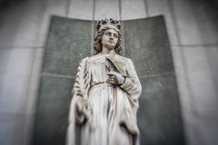 Estatua de Maria Fotografía de archivo libre de regalías