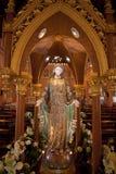 Estatua de Maria de Virgen Imagenes de archivo