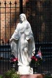 Estatua de Maria de Virgen Imágenes de archivo libres de regalías