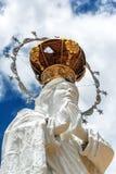 Estatua de Maria de Virgen Imagen de archivo
