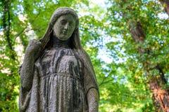 Estatua de Maria de Virgen fotos de archivo libres de regalías
