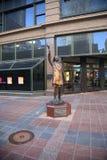 Estatua de Maria Richards - Minneapolis Fotografía de archivo libre de regalías