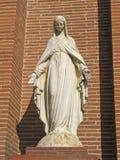 Estatua de Maria virginal imagen de archivo libre de regalías