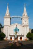 Estatua de Maria y de Jesús Fotos de archivo libres de regalías