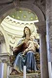 Estatua de Maria y del niño en Venecia Imagen de archivo