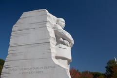 Estatua de Martin Luther King Imagen de archivo