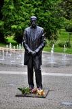Estatua de Masaryk del carrascal de Tomas fotos de archivo