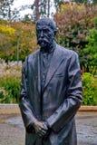 Estatua de Masaryk del carrascal de Tomas Fotografía de archivo