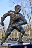 Estatua de Maurice Richard Foto de archivo libre de regalías