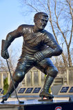 Estatua de Maurice Richard Foto de archivo