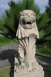 Estatua de Merlion de la reproducción imagenes de archivo