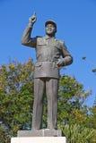 Estatua de Michel Samora Imagen de archivo libre de regalías