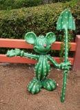 Estatua de Mickey Mouse Fotografía de archivo