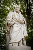 Estatua de Miguel de Montaigne Imagen de archivo