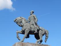 Estatua de Mihai Viteazu Foto de archivo libre de regalías