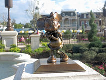 Estatua de Minnie Mouse Imagenes de archivo