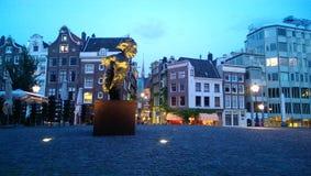 Estatua de Multatuli Foto de archivo libre de regalías