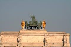 Estatua de Napoleon fotografía de archivo libre de regalías