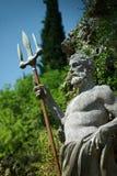 Estatua de Neptun Fotos de archivo