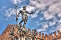 Estatua de Neptuno imágenes de archivo libres de regalías