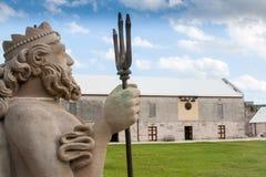 Estatua de Neptuno Foto de archivo libre de regalías