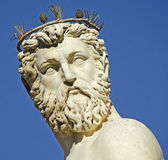 Estatua de Neptuno, Florencia Imagen de archivo