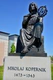 Estatua de Nicolaus Copernicus Imagenes de archivo