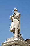 Estatua de Nicolo Tommaseo, Venecia Fotos de archivo