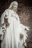 Estatua de nuestra señora Fotos de archivo