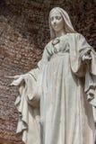 Estatua de nuestra señora Imagen de archivo libre de regalías