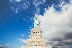 Estatua de Nueva York de la libertad imagen de archivo