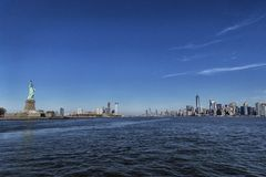Estatua de Nueva York de la libertad foto de archivo