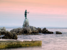 Estatua de Opatija Fotos de archivo libres de regalías