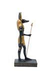 Estatua de oro de Anubis Fotografía de archivo libre de regalías