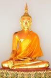Estatua de oro de Buda (Buda de oro) en Wat Pho Imágenes de archivo libres de regalías