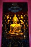 Estatua de oro de Buda del phutasinsri del pra Imagen de archivo libre de regalías