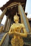 Media estatua de la mujer del medio pájaro Fotografía de archivo libre de regalías