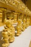 Estatua de oro Hanuman Fotos de archivo libres de regalías