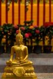 Estatua de oro Tailandia de Buddha Imagen de archivo libre de regalías