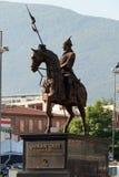 Estatua de Osman Gazi en Bursa Foto de archivo