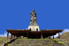 Estatua de Pachacutec Foto de archivo libre de regalías