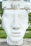 Estatua de Pakal Foto de archivo libre de regalías