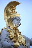 Estatua de Pallas Athena en Viena, Austria Imagen de archivo libre de regalías