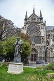 Estatua de papa Jean-Paul del santo II fotos de archivo
