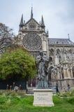 Estatua de papa Jean-Paul del santo II foto de archivo libre de regalías