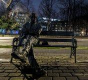 Estatua de Patrick Kavanagh Imágenes de archivo libres de regalías