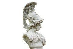 Estatua de Perseus aislada Fotografía de archivo