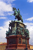 Estatua de Peter I Foto de archivo