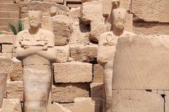 Estatua de Pharaohs Imagen de archivo libre de regalías